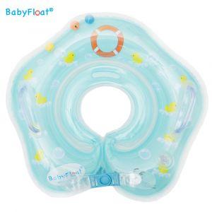 BabyFloat Blauw met eendjes
