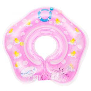 Roze BabyFloat met eendjes